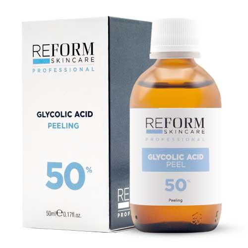 Glycolic-Acid peeling reform skincare