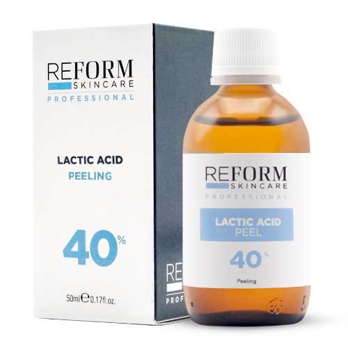 Lactic Acid Peeling 40% reform skincare