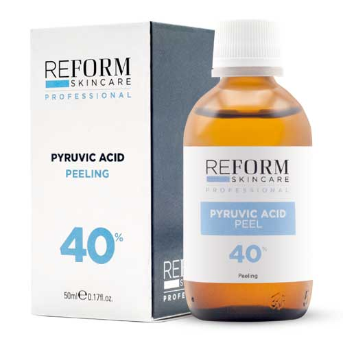 Pyruvic Acid Peeling 40% refoem skincare