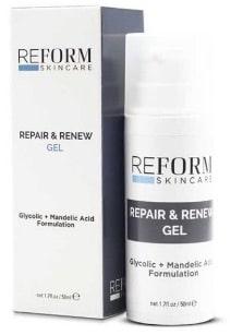 repair & renew gel reform skincare