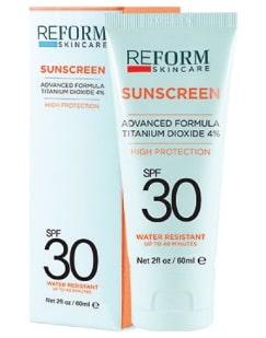 spf 30 sunscreen reform skincare